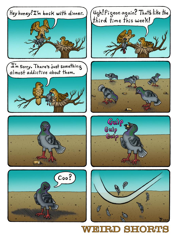Fast Food Pigeon